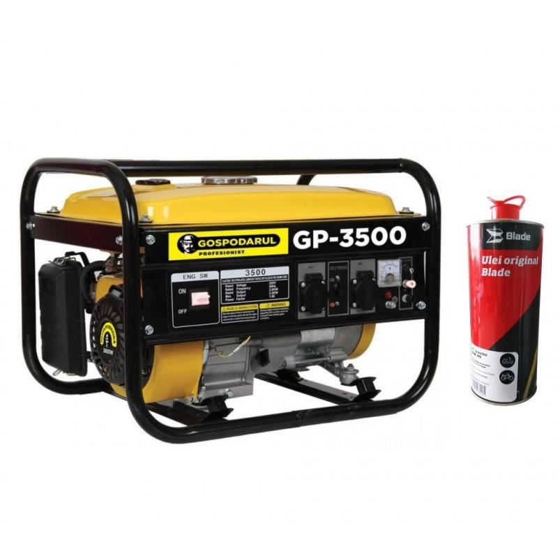 Generator Gospodarul Profesionist GP-3500, 2800W 7Cp + ULEI 4T