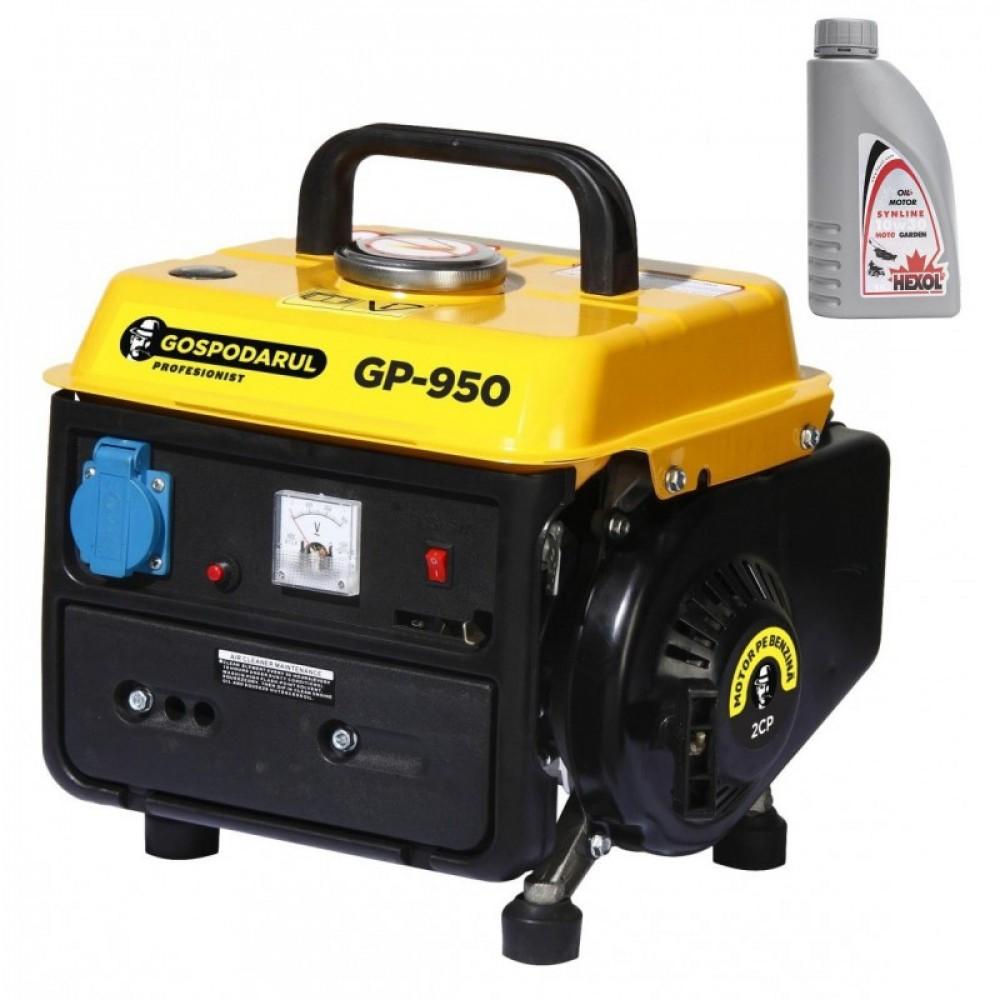 Generator 900W Gospodarul Profesionist GP-950 + Ulei Hexol 2T