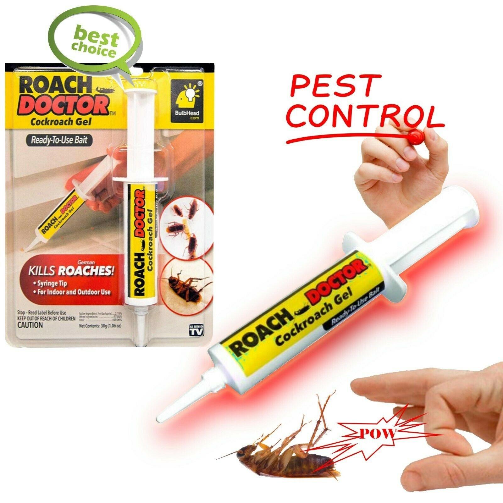 Insecticid tip gel pentru gandaci, Doctor Roach