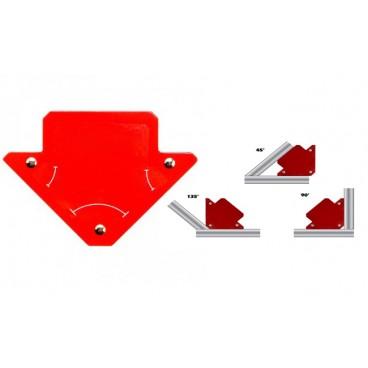 Vinclu magnetic multiunghiular pentru sudura
