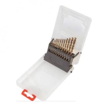 Trusa 13 burghie spirale pentru metal tip HSS 2-8 mm