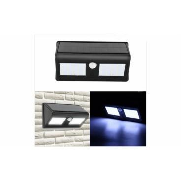 Lampa Solara Dubla cu 40 leduri si senzori de proximitate 120 grade