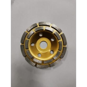 Disc oala diamantat de slefuit beton si piatra 125 mm