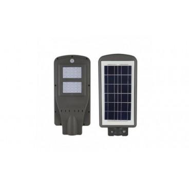 Lampa Stradala, COB LED 30 W, Telecomanda, Panou solar