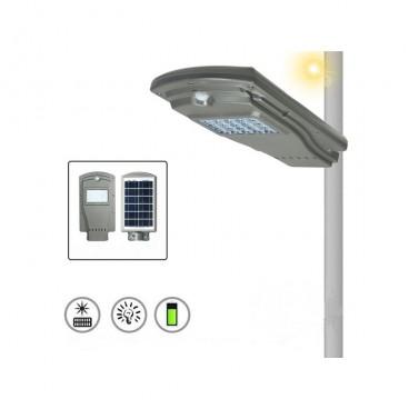 Proiector LED 20W cu panou solar si senzor de miscare