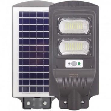 Proiector Stradal, COB LED 20 W, Telecomanda, Panou solar