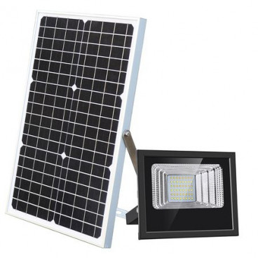 Proiector stradal 80 W, Panou Solar, Telecomanda, IP67
