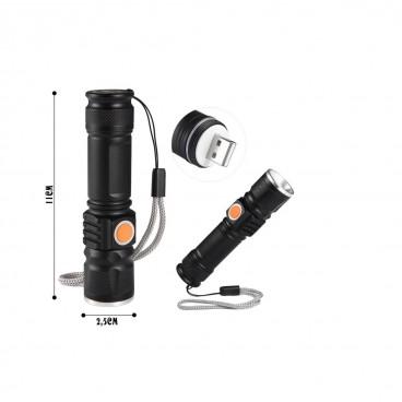 Lanterna cu acumulator si incarcare USB